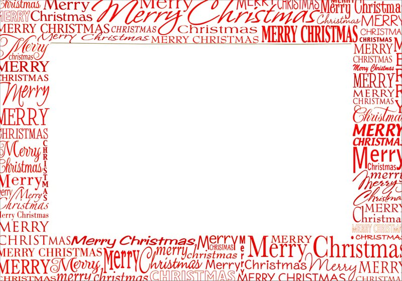 Red Merry Christmas Photo Holders Box Of 18 Christmas Cards By