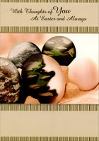 Military Colored Eggs (1 card/1 envelope) Designer Greetings Easter Card