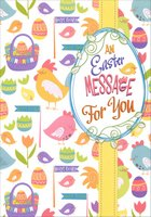 Baskets, Eggs and Chicks Collage (1 card/1 envelope) Designer Greetings Easter Card