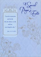 A Special Prayer (1 card/1 envelope) Designer Greetings Religious Easter Card