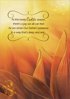 Our Father's Presence (1 card/1 envelope) Designer Greetings Religious Easter Card