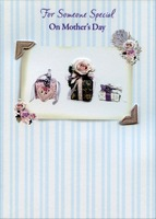 Tip On Rose and Gifts Handmade: Someone Special (1 card/1 envelope) Designer Greetings Designer Boutique Mother's Day Card