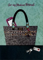 Purse and Gems Handmade: Friend (1 card/1 envelope) Designer Greetings Designer Boutique Mother's Day Card