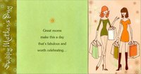 Two Women Shopping Short Fold (1 card/1 envelope) Designer Greetings Mother's Day Card