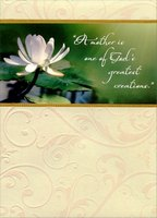 Greatest Creations (1 card/1 envelope) Designer Greetings Religious Mother's Day Card