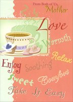 Soothing, Warmth, Tea: Mother (1 card/1 envelope) Designer Greetings Mother's Day Card