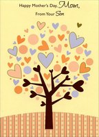 Heart Tree: Mom (1 card/1 envelope) Designer Greetings Mother's Day Card