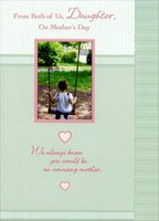 Girl on Swing: Daughter (1 card/1 envelope) Designer Greetings Mother's Day Card