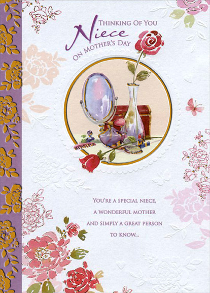 Cd11204 mirror perfume and brush niece mothers day cardg description publicscrutiny Image collections