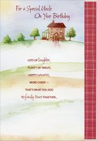 House on Hill Short Fold: Uncle (1 card/1 envelope) Designer Greetings Birthday Card