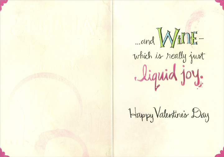 Fill with joy funny valentines day card by designer greetings m4hsunfo
