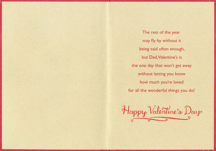 Fishing Lures Dad Valentines Day Card by Designer Greetings – Valentine Cards for Dad