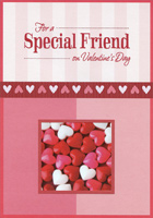 Candy Hearts: Special Friend (1 card/1 envelope) Designer Greetings Valentine's Day Card