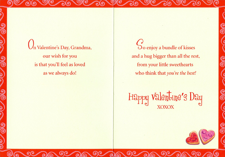 Valentines Day Quotes For Grandma: New Happy Valentines Day Grand Kids Images
