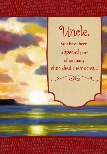 Sunrise red foil borders uncle valentines day card by designer sunrise red foil borders uncle valentines day card by designer greetings 735882626269 ebay m4hsunfo