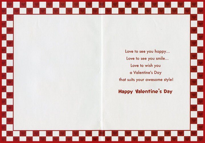 Pizza Slice Son Valentines Day Card by Designer Greetings