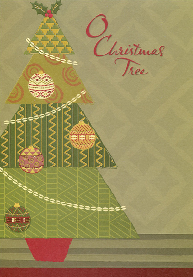 Shades of green tree african american box of 18 christmas cards by shades of green tree african american box of 18 christmas cards by designer greetings m4hsunfo