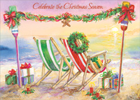 larger images - Tropical Christmas Cards
