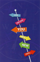 Road Signs: Life Has Lead You (1 card/1 envelope) Freedom Greetings New Job Congratulations Card