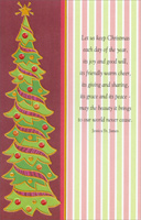 Tall Tree (1 card/1 envelope) - Christmas Card