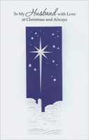 Star of Bethlehem: Husband (1 card/1 envelope) - Christmas Card