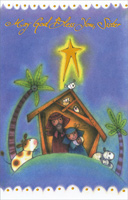 Manger: Sister (1 card/1 envelope)  Christmas Card