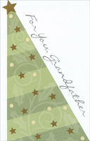 Contemporary Tree: Grandfather (1 card/1 envelope)  Christmas Card