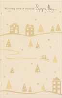 Happy Days (1 card/1 envelope) - Christmas Card