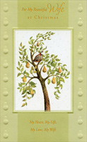 Partridge in Pear Tree: Wife (1 card/1 envelope) - Christmas Card