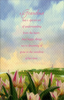 Tulips Under Pastel Sky: Grandma (1 card/1 envelope) - Easter Card