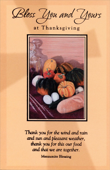 bountiful harvest religious thanksgiving card by freedom