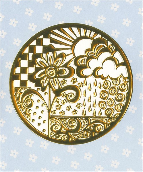 Seasons (1 card/1 envelope) Blank Card