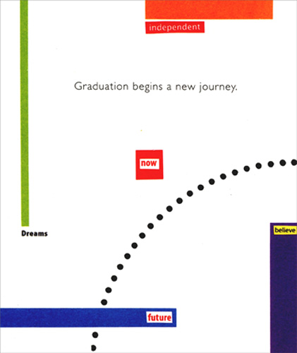 A new journey graduation card by freedom greetings m4hsunfo