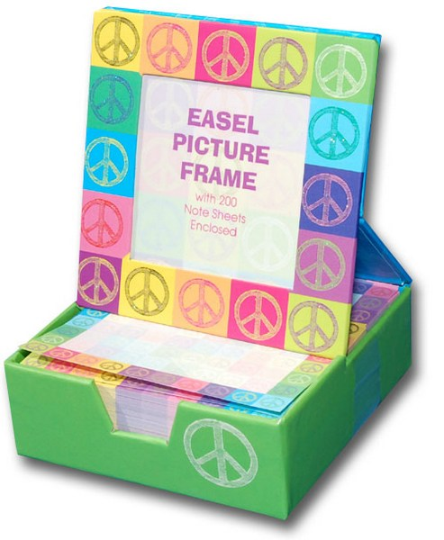 Peace Pop Art Graphique de France Desk Frame