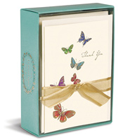 Butterflies (10 cards/10 envelopes) Graphique de France Boxed Thank You Cards