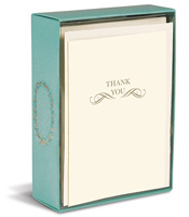Scroll (10 cards/10 envelopes) - Boxed Thank You Cards