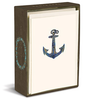 Anchor (10 cards/10 envelopes) - Boxed Blank Note Cards