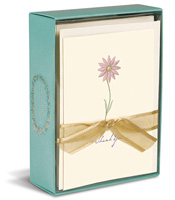 A Single Daisy (10 cards/10 envelopes) - Boxed Blank Note Cards
