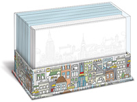 Big City New York (50 flat note cards/50 envelopes) - Boxed Blank Note Cards