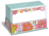 London Floral (50 flat note cards/50 envelopes) - Boxed Blank Note Cards