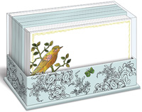 Happy Bird (50 flat note cards/50 envelopes) Graphique de France Boxed Blank Note Cards