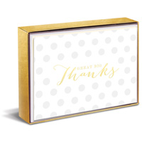 Great Big Thanks Sweet Notes (10 cards/10 envelopes) Graphique de France Boxed Thank You Note Cards