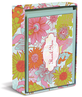 London Floral (20 cards/20 envelopes) Graphique de France Boxed Thank You Cards