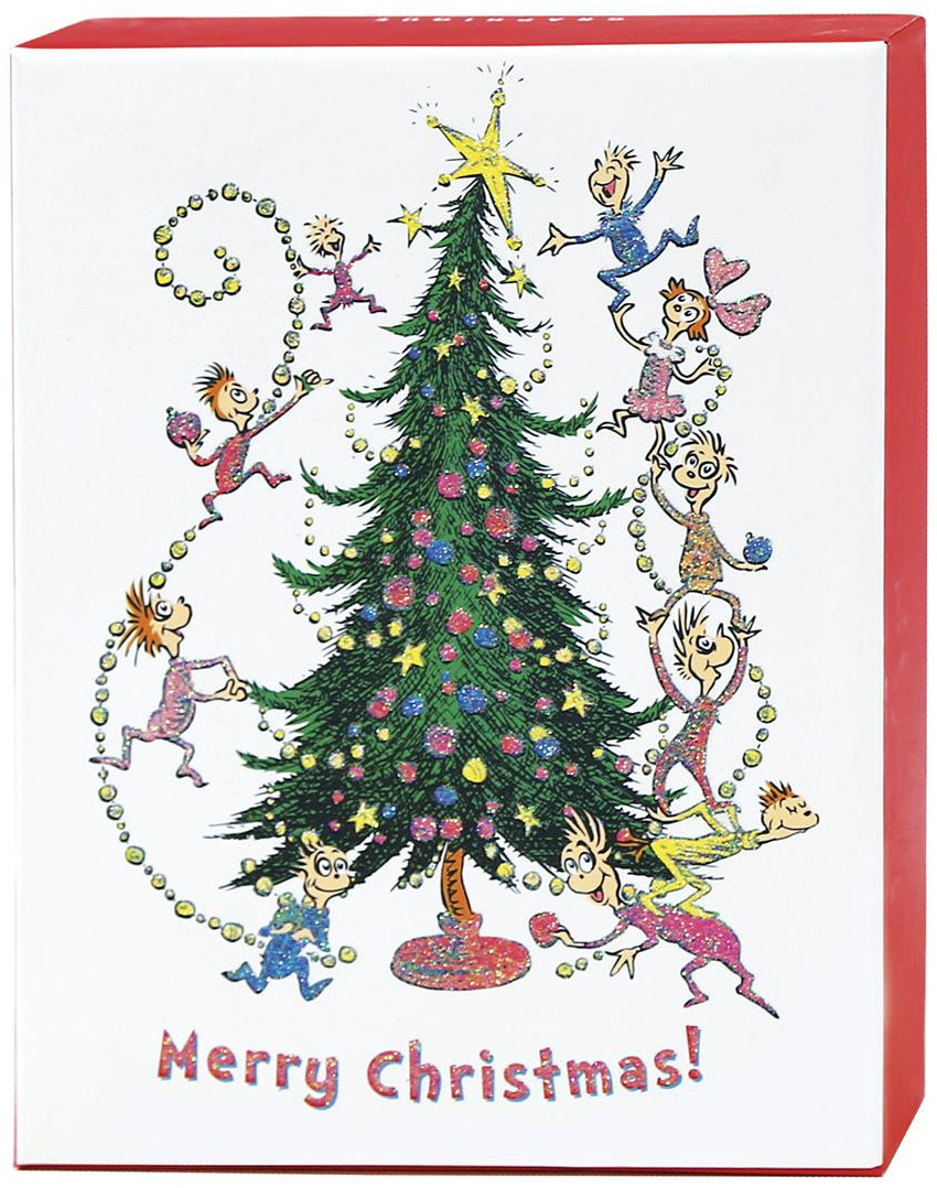 Dr. Seuss Grinch and Whos Box of 20 Assorted Christmas Cards by ...