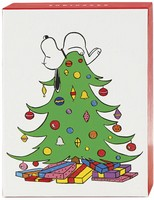 Snoopy and Woodstock Petite Box of 20 Assorted Christmas Cards