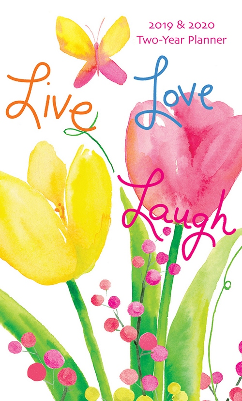 live love laugh 29 month 2 year 2019 2020 pocket calendar planner