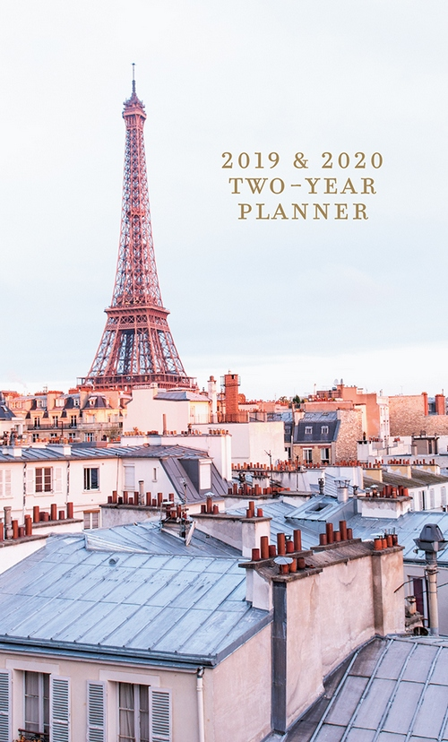 a parisian life 29 month 2 year 2019 2020 pocket calendar planner