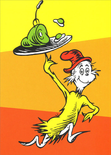 ... envelope) Dr. Suess Blank Card - FRONT: No Text INSIDE: Blank Inside