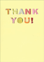 Graphique de France - Thank You Cards