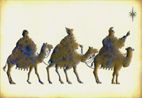 Heritage Wise Men Signature Box of 15 Christmas Cards